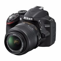 Nikon Reflex D3200 Kit 18-55mm Memoriasd Clase 10 De Regal