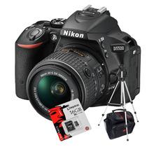 Nikon D5500 Kit 18-55m Vr Wifi+ Tripode+ Bolso+ 16gb C10!!!!