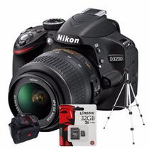 Nikon D3200 Kit 18-55mm+ Bolso+ Sd 32gb C10+ Trípode!!!!!!!!