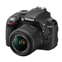Camara Digital Nikon D3300 Kit 18-55 Vr Ii Full Hd 24.2 Mpx