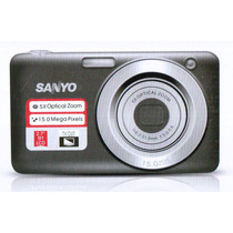 Camara Digital Sanyo Vpc1500 15mpx 5x Zoom Optico Hd