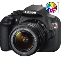 Camara Reflex Canon T5 Kit 1200d Lente 18-55mm 18mp Full Hd