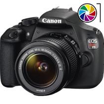 Camara Reflex Canon T5 18-55mm 18mp Full Hd Gtia Factura A B
