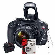 Canon Eos T5 1200d Kit 18-55 32gb C10+ Bolso+ Trípode!!!!!!!