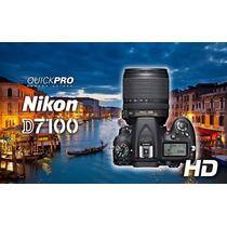 Nikon D7100+kit 18-105 Vr Nuevas, Garantia, Factura, Envios