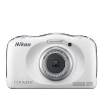 Camara Nikon Coolpix S33 14mp Sumergible Full Hd 3x Zoom New