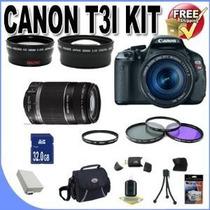 Camara Canon Rebel T3i Kit Nueva Sin Uso