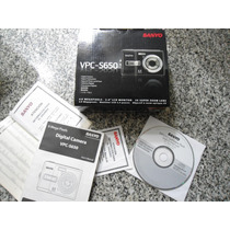 Caja De Camara Sanyo 6mp Con Manual Y Cd De Aplicacciones