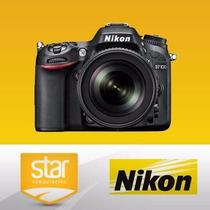 Rosario Camara Reflex Nikon D7100 Kit 18-140mm Nuevo Kit