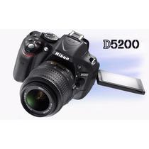 Camara Reflex Digital Nikon D5200 Kit 18-55 Vr Envio Gratis