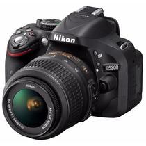 Nikon D5200 Kit 18-55mm + Memoriasd 16gb Clase 10 De Regalo