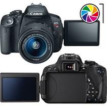 Camara Reflex Canon T5i Kit 18-55mm 18mp Full Hd Factura A B