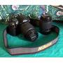 Urgente! Vendo Camara Nikon D3000 C/ Lente 18-55 Y 55-200