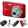 Nikon S2900 Reemp. S2800 16gb C10+ Lector+ Funda+ Trípode!!!