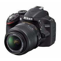 Nikon D3200 Kit Vrii Lente 18-55 Full Hd + Sd 16gb Clase 10