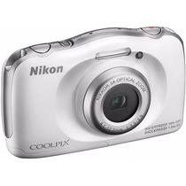 Camara Digital Nikon Sumergible Coolpix S33 Hasta 10mts Full
