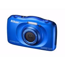 Nikon Coolpix S33 Sumergible Anti Golpe. Mar Del Plata