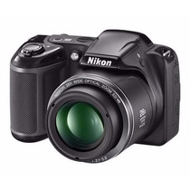Nikon Coolpix L340 Zoom 28x 20mp Hd + Sd 8gb + Bolso + Gtia