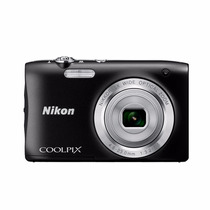Camara Nikon Negra Coolpix S2900 20.1mpxlvideo Hd Recarggtía