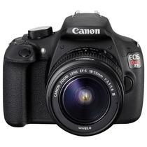 Camara Canon Eos Rebel T5 Kit 18-55 Ii 18mpx 3 Usb