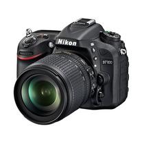 Camara Reflex Nikon D7100 Kit 18-105mm Vr + 16gb Clase 10