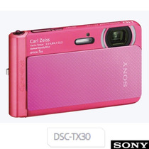 Camara Digital Sony Tx30 Resistente Sumergible Full Hd 18mpx