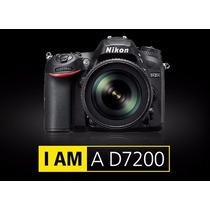 Nikon D7200 Body Camara Fotográfica Reflex