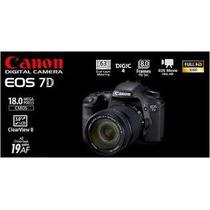 Canon 7d 18mpx -sólo Cuerpo- Impecable, Hermosa!!!!