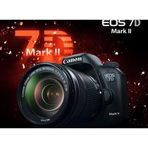 Camara Canon 7d Mark Ii (2) Kit 18-135 - Caja Cerrada - Gtia