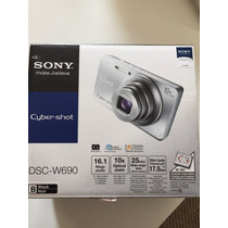 Camara Sony W690 Black Impecable Funda De Regalo