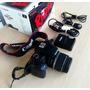Canon Rebel Xs + Lente 18-55 + Cargador + Cables + Mem.8gb