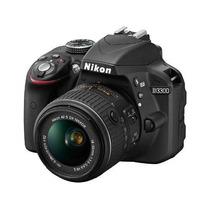 Cámara Nikon D3300 Kit 18-55 Vr 24mp Full Hd Nuevo Gtia