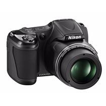 Nikon L820 Coolpix 16mpx Zoom 30x + Memo 16gb +bolso!