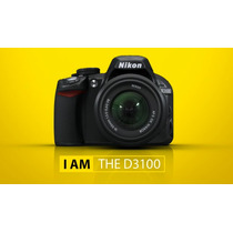 Nikon D3100+kit Lente18-55+fullhd+reflex+nuevas Garantía!!!!