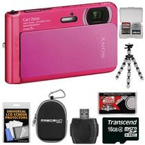 Camara Digital Sony Tx30 Sumergible Con Todos Los Accesorios