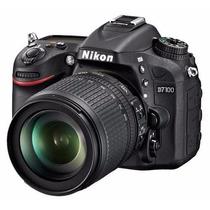 Nikon D7100 D 7100 Kit 18-140mm Vr 24.1mp Full Hd Lcd 3.2!!!