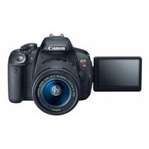 Camara Refelex Canon Rebel T5i +lente 18-55 Factura A O B