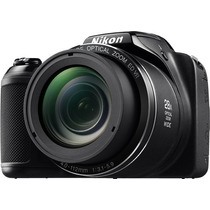 Camara Nikon Coolpix L340 20mp Zoom 28x Hd Lcd 3 Semi Reflex
