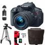 Canon Rebel T5i Eos 700d 18-55 Trípode+ Sd 8gb+ Bolso+ Envio