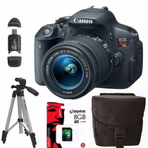 Canon Rebel T5i Eos 700d 18-55 Extras +12 Cuotas Sin Interes