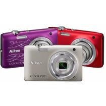 La Plata Camara Digital Nikon S2800 5x 20.1 Mpx Hd