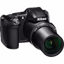 Nikon L840 16mpx 38x Zoom Wifi + 16gb Cl10 + Bolso + Tripode