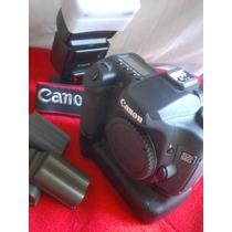 Canon 50d + Grip + 4 Baterias + Flash