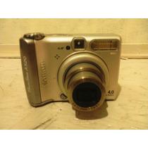 Camara De Fotos Canon Powershot A520 Solo Para Repuestos