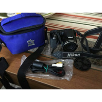 Camara Nikon Coolpix L810 Lcd 16.1 Con Accesorios Como Nueva