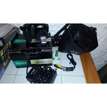 Camara Fujifilm S1500 Bolso Cargador Pilas Memo 32gb Sandisk