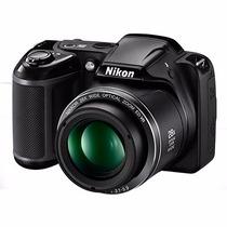 Nikon Coolpix L340 28x 20.2 Mpx + Sd8gb + Bolso + 1 Año Gtia