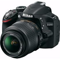 Camara Digital Reflex Nikon D3200 Full Hd Kit 18-55 Mm Gtia