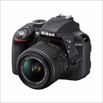 Nikon D3300 18-55mm, Camara Reflex 24 Mp, Oferta_1