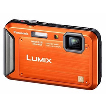 Panasonic Lumix Dmc-ts25 16.1 Mp,sumergible, Resistente !